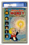 Bronze Age (1970-1979):Cartoon Character, Richie Rich Money World #1 (Harvey, 1974) CGC NM 9.4 Off-white towhite pages. Featuring the first appearance of Mayda Money...