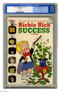 Richie Rich Success Stories #1 File Copy (Harvey, 1964) CGC NM 9.4 Off-white pages. This is one of the earliest of the m...