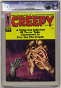 Magazines:Horror, Creepy #24 Pacific Coast pedigree (Warren, 1968) CGC NM+ 9.6 Off-white to white pages. Cover by Gutenberg Monteiro. Art by T...