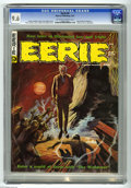 Magazines:Horror, Eerie #9 (Warren, 1967) CGC NM+ 9.6 Off-white to white pages. Cover by Dan Adkins. Art by Roy Krenkel, Steve Ditko, Neal Ada...