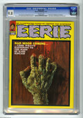 Magazines:Horror, Eerie #36 (Warren, 1971) CGC NM/MT 9.8 Off-white pages. All this issue's Enrich Torres cover shows is a hand, but what a sca...