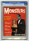 Magazines:Horror, Famous Monsters of Filmland #1 (Warren, 1958) CGC VF+ 8.5 Off-white pages. The first Warren monster magazine is also the mos...