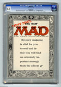 Golden Age (1938-1955):Humor, Mad #24 (EC, 1955) CGC NM+ 9.6 Off-white pages. The Mad comic broke new ground and blew the minds of many of its readers...