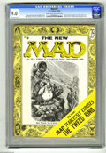 Magazines:Mad, Mad #25 (EC, 1955) CGC VF/NM 9.0 Light tan to off-white pages. Thisissue marks Al Jaffee's debut as a regular writer for th...