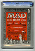 Magazines:Mad, Mad #29 Gaines File Copy pedigree (EC, 1956) CGC NM 9.4 Whitepages. Al Feldstein began his long stint as the editor of Ma...