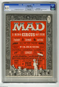 Magazines:Mad, Mad #29 White Mountain pedigree (EC, 1956) CGC VF+ 8.5 Off-white towhite pages. This issue marks Al Feldstein's first issue...