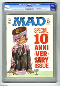 Magazines:Mad, Mad #72 Gaines File Copy pedigree (EC, 1962) CGC NM+ 9.6 Off-whiteto white pages. From the celebrated Gaines files comes th...