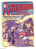 Pulps:Science Fiction, Astounding Stories Jan 1930 (V1#1) (Street & Smith, 1930)Condition: VG+. The landmark first issue of this long-runningscie...