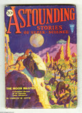 Pulps:Science Fiction, Astounding Stories Jun 1930 (V2#3) (Street & Smith, 1930)Condition: VG. Hans Wessolowski provides nice cover art of menver...