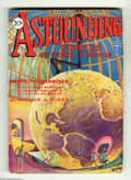 Pulps:Science Fiction, Astounding Stories July 1930 (V3#1) (Street & Smith, 1930)Condition: FN. Impressive cover art by Hans Wessolowski, of agia...