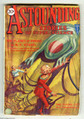 Pulps:Science Fiction, Astounding Stories Aug 1930 (V3#2) (Street & Smith, 1930)Condition: FN. Painted cover art by Hans Wessolowski. Full spinew...