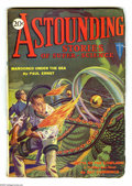Pulps:Science Fiction, Astounding Stories Sept 1930 (V3#3) (Street & Smith, 1930)Condition: FN-. A pair of weird space aliens are featured onthis...