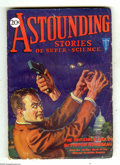 Pulps:Science Fiction, Astounding Stories Oct 1930 (V4#1) (Street & Smith, 1930)Condition: VG+. A loyal American grapples with a semi-visiblekill...