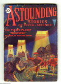 Pulps:Science Fiction, Astounding Stories Nov 1930 (V4#2) (Street & Smith, 1930)Condition: VG/FN. Hans Wessolowski painted a nice alien invasionc...
