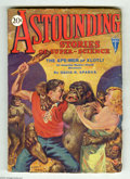 Pulps:Science Fiction, Astounding Stories Dec 1930 (V4#3) (Street & Smith, 1930)Condition: VG+. It's man versus gorilla on this memorable HansWes...