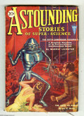 Pulps:Science Fiction, Astounding Stories Jan 1931 (V5#1) (Street & Smith, 1931)Condition: VG+. This issue's Hans Wessolowski cover art featuresa...