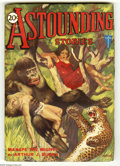 Pulps:Science Fiction, Astounding Stories June 1931 (V6#3) (Street & Smith, 1931)Condition: FN. Great cover of the human-brained gorilla, Manapet...