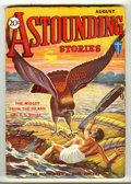 Pulps:Science Fiction, Astounding Stories Aug 1931 (V7#2) (Street & Smith, 1931)Condition: FN-. A beautiful pulp with a full, unfaded spine, andv...