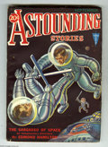 Pulps:Science Fiction, Astounding Stories Sept 1931 (V7#3) (Street & Smith, 1931)Condition: FN. Men in spacesuits fight each other as they floati...