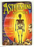 Pulps:Science Fiction, Astounding Stories Nov 1931 (V8#2) (Street & Smith, 1931)Condition: FN-. A science-summoned skeleton is featured on thispi...
