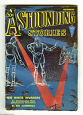 Pulps:Science Fiction, Astounding Stories Dec 1931 (V8#3) (Street & Smith, 1931)Condition: VG+. Hans Wessolowski cover art. Full, unfaded spine.I...