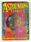 Pulps:Science Fiction, Astounding Stories Feb 1932 (V9#2) (Street & Smith, 1932)Condition: VG/FN. Cover art by Hans Wessolowski. Full spine, with...