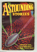 Pulps:Science Fiction, Astounding Stories Mar 1932 (V9#3) (Street & Smith, 1932)Condition: VG+. Hans Wessolowski cover art. Full, unfaded spine.I...