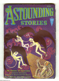 Pulps:Science Fiction, Astounding Stories Apr 1932 (V10#1) (Street & Smith, 1932)Condition: FN-. Black-winged albino devils net a spaceman onthis...