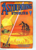Pulps:Science Fiction, Astounding Stories May 1932 (V10#2) (Street & Smith, 1932)Condition: VG/FN. Hans Wessolowski cover art. Full, unfadedspine...