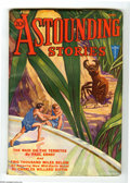 Pulps:Science Fiction, Astounding Stories June 1932 (V10#3) (Street & Smith, 1932)Condition: FN. Hans Wessolowski provides a memorable piece of co...