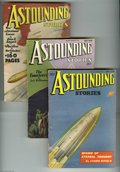 Golden Age (1938-1955):Science Fiction, Astounding Stories Group (Street & Smith, 1936) Condition:Average FN-. This lot consists of seven great science fictionpul... (7 items)