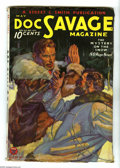 Pulps:Hero, Doc Savage May 1934 (V3#3) (Street & Smith, 1934) Condition: Apparent FR/GD. Cover art by Walter Baumhofer. Includes the sto...