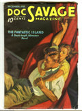 Pulps:Hero, Doc Savage Dec 1935 (V6#4) (Street & Smith, 1935) Condition: FN. Incredible condition for a pulp with so much black on the c...