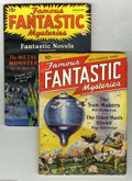 Pulps:Science Fiction, Famous Fantastic Mysteries Group - Yakima Pedigree (Frank A. MunseyCo., 1940-41) Condition: Average VF. This lot consists o...