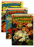 Golden Age (1938-1955):Horror, Forbidden Worlds Group (ACG, 1953-54) Condition: Average FN+....(Total: 4 Comic Books)