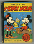 """Platinum Age (1897-1937):Miscellaneous, Big Big Book #4062 """"The Story of Mickey Mouse"""" (Whitman, 1935)Condition: VG-. If the tiny size of the Big Little Books ..."""
