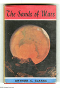 "Books:First Editions, Arthur C. Clarke - ""The Sands of Mars,"" First Edition (Sidgwick andJackson, 1951). This Sidgwick first edition of The San..."