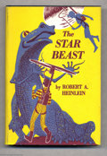 "Books:First Editions, Robert A. Heinlein - ""The Star Beast,"" First Edition (CharlesScribners Sons, 1954) This copy is a first edition (with the l..."