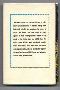 Shirley Jackson The Haunting Of Hill House First Edition Lot 2498 Heritage Auctions