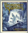 "Books:Fine Press and Limited Editions, Roy G. Krenkel -- ""Swordsmen and Saurians,"" Limited Edition Book#132/175 (Eclipse, 1989). Fantasy master Roy G. Krenkel die..."