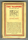 "Books:First Editions, Montague Summers - ""The Vampire His Kith and Kin,"" First Edition(Kegan, Paul, Trench, Trubner, and Co., 1928). This is the ..."