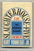 "Books:Miscellaneous, Kurt Vonnegut Jr. -- ""Slaughterhouse-Five"" and ""Hocus Pocus,"" FirstEditions, Group of 2, One Signed (Various, 1969 and 1990).... (2items)"