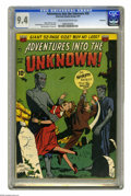 Golden Age (1938-1955):Horror, Adventures Into the Unknown #20 Northford pedigree (ACG, 1951) CGCNM 9.4 Cream to off-white pages. Ladies, when you're look...