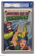 Golden Age (1938-1955):Horror, Adventures Into the Unknown #26 Spokane pedigree (ACG, 1951) CGCNM+ 9.6 Off-white to white pages. Here's a super-nice pedig...