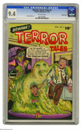 Golden Age (1938-1955):Horror, Beware Terror Tales #4 Crowley Copy pedigree (Fawcett, 1952) CGC NM9.4 Off-white pages. This issue, which sports a Bernard ...