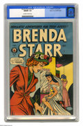 Golden Age (1938-1955):Romance, Brenda Starr V2#10 Mile High pedigree (Four Star, 1949) CGC NM/MT 9.8 Off-white to white pages. We feel very confident in ca...