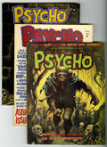 Magazines:Horror, Psycho Group (Skywald, 1972-74) Condition: Average VF.... (Total: 11 Comic Books)