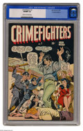 Golden Age (1938-1955):Crime, Crimefighters #1 Canadian Edition (Bell Features, 1949) CGC VF/NM 9.0 Cream to off-white pages. The U.S. edition has 2005 Ov...