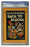 Golden Age (1938-1955):Cartoon Character, Dell Giant Comics - Woody Woodpecker Back to School #1 - File Copy(Dell, 1952) CGC NM+ 9.6 Off-white to white pages. Stupef...