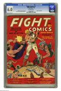 Golden Age (1938-1955):Miscellaneous, Fight Comics #1 (Fiction House, 1940) CGC FN 6.0 Off-white pages. Fiction House titles were Golden Age staples, featuring so...